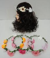 Floral Head Wreath [5 Flowers]